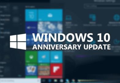 Télécharger la version anniversaire de Windows 10 (1607)