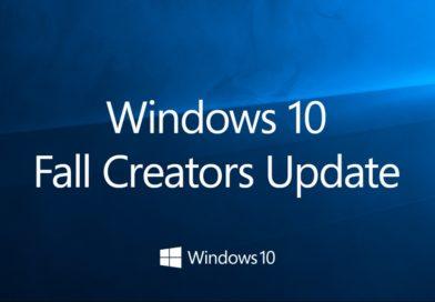 Télécharger la dernière version de Windows 10, Fall Creators Update