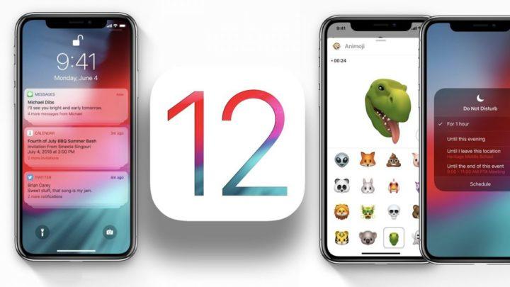 Ios 12: nouveautés et appareils compatibles