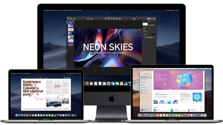 Machine compatible avec MacOs MOJAVE