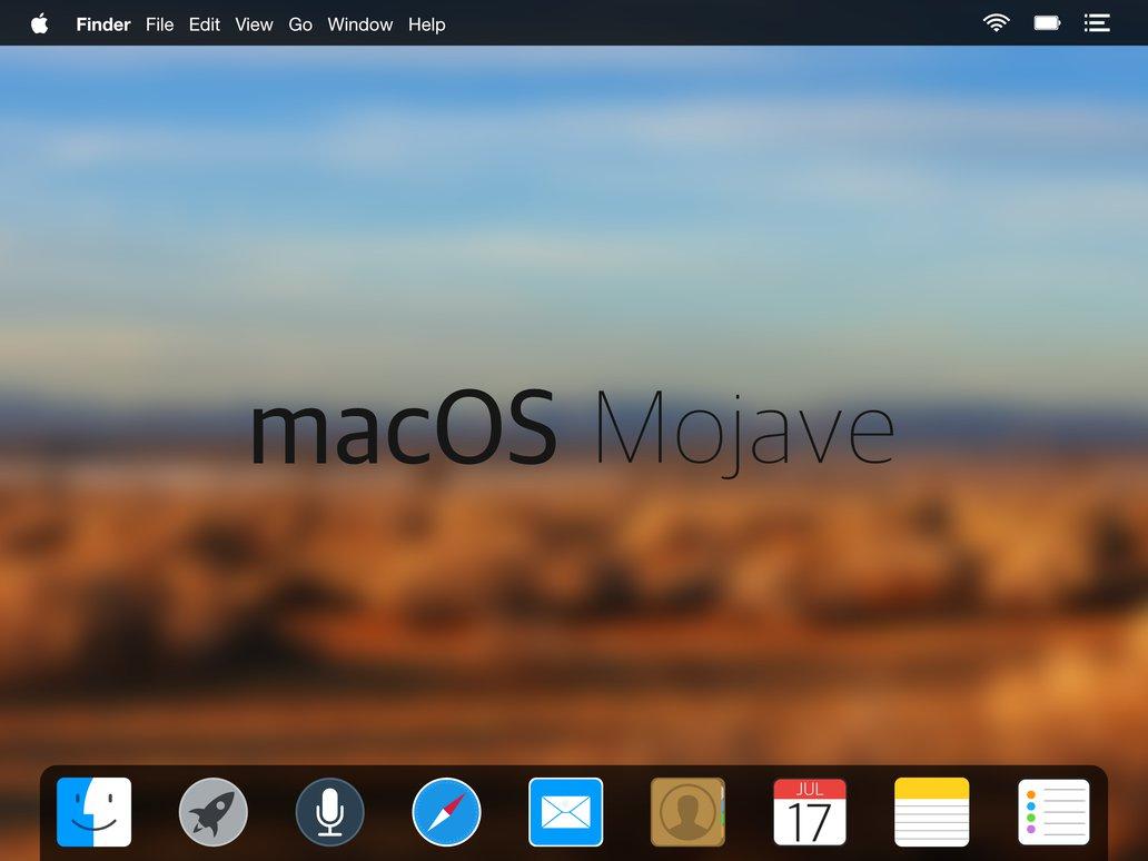 Nouveauté Mac OS 10.14: MOJAVE