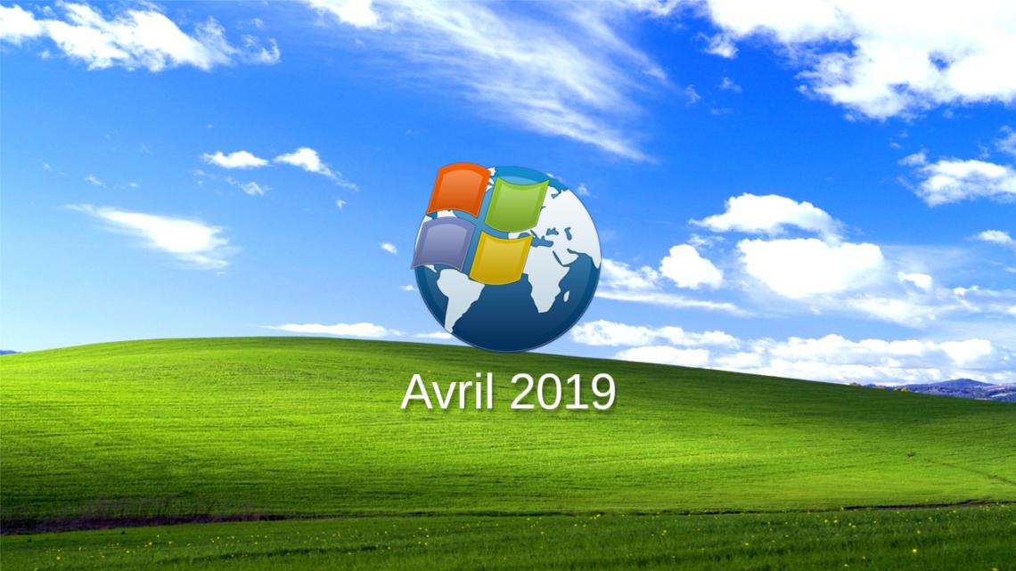 Recevoir les mises à jour pour XP jusqu'en avril 2019
