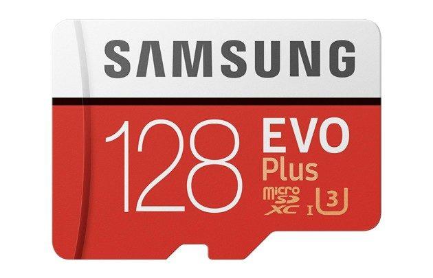 Carte MicroSD Samsung EVO plus de 128Go à 23€93