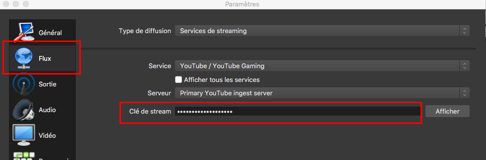 streamer-écran-youtube-obs